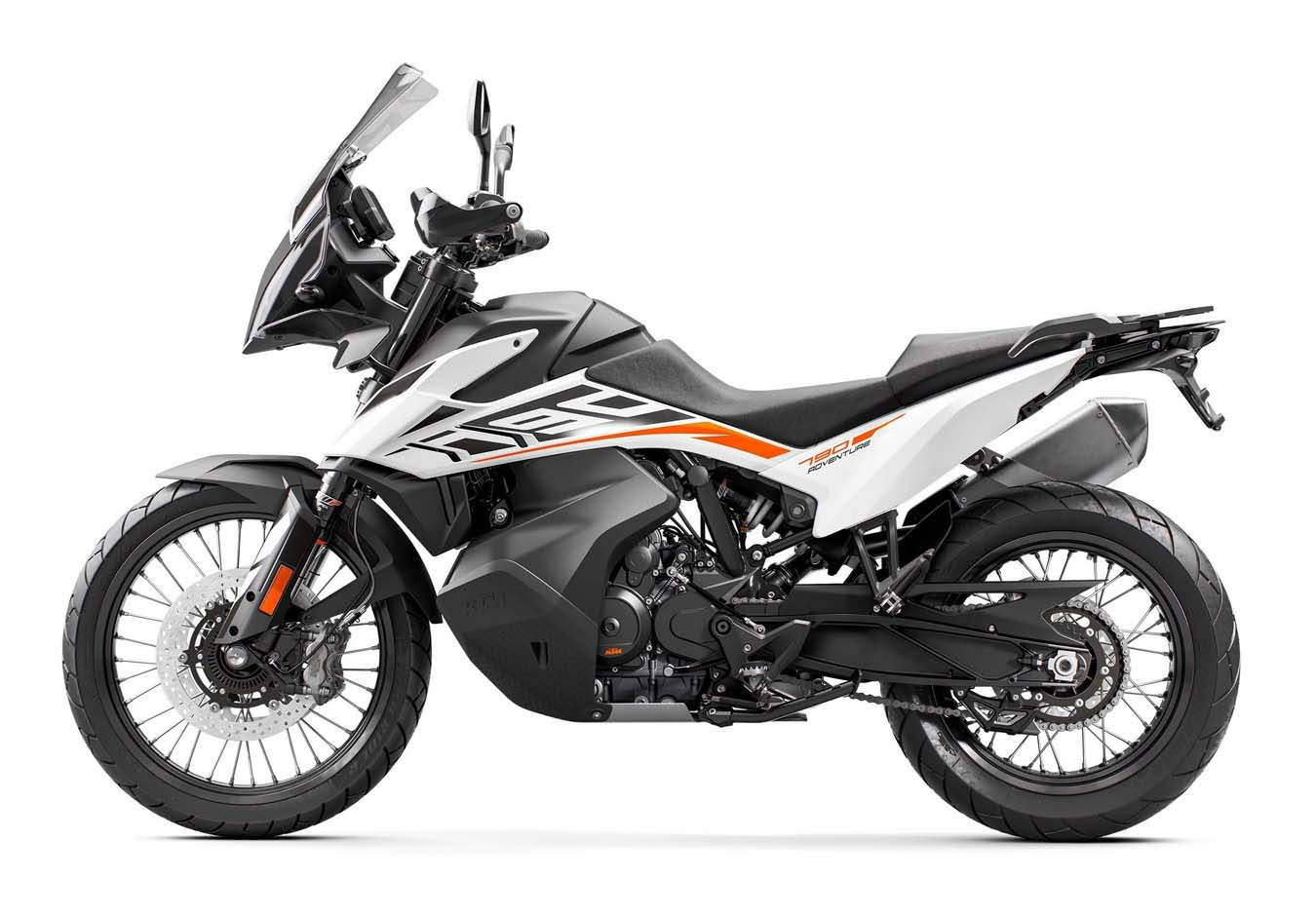 KTM 790 Adventure technical specifications